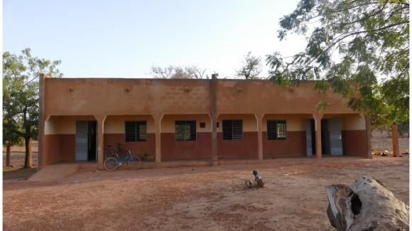 Damage de la cour de la maternelle d'Irim