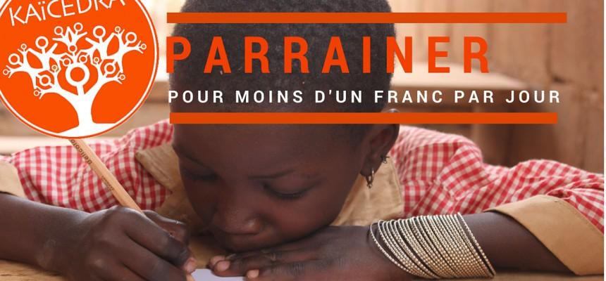Une nouvelle campagne «Parrainage» sur Facebook