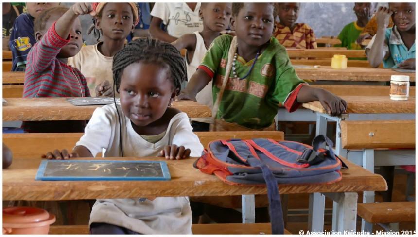 Support logistique et pédagogique à la Maternelle d′Irim